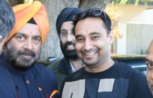 JJ Singh and Dalvir Pannu.dentist dalvir pannu